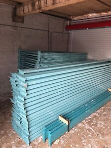 Used Teardrop Pallet Rack 13ft Beams