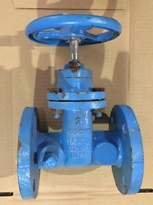 New 200 Cwp Flanged Cast Iron Gate Valve 2 Flanged Usc Certified Matco norca