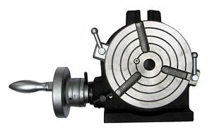 8 Rotary Table 3 Slot Horizontal Vertical Precision Quality