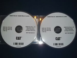 Cat Caterpillar 980m Wheel Loader Parts Manual Cd S n Krs T4f Hds Ljs Mll Wl4