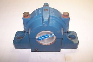 New Skf Roller Bearing Split Pillow Block Housing 2 Bolt Base Saf 510