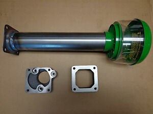 John Deere 630 Air Cleaner Base Precleaner Stack Tube With Precleaner And Blocks
