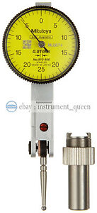 Mitutoyo 513 466e Dial Test Indicator Basic Set Horizontal Type 8mm Stem