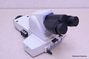 Nikon Eclipse E400 E600 Binocular Microscope Head With Y fl Epi Fluorescence