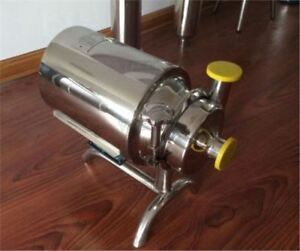 Delivery Pump Sanitary Beverage Milk Stainless Steel Sanitary Pump 3t h 220v Ws