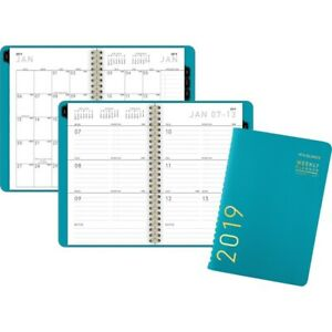 At a glance reg Contemporary Weekly monthly Planner 70108x42