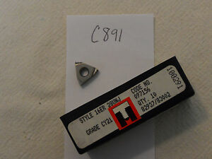 10 New Rtw 16 Er 28 Unj Carbide Inserts Grade Cy21 Made In Usa c891