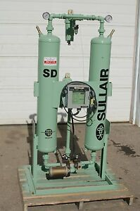 Sullair Model Sd 100 100 Cfm Twin tower Compressed Air Dryer