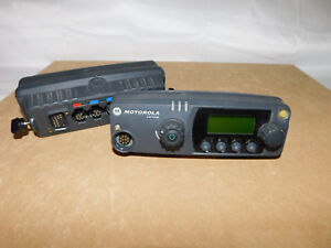 Motorola Pm1500 Vhf Uhf P25 Digital Mobile Radio Control Head Xtl Style 5000