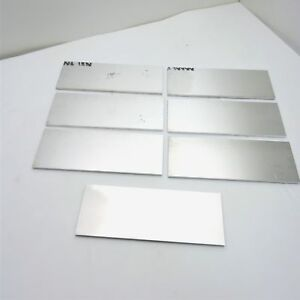 25 Thick 1 4 Aluminum 6061 Plate 4 3125 X 11 5 Long Qty 7 Sku 175039
