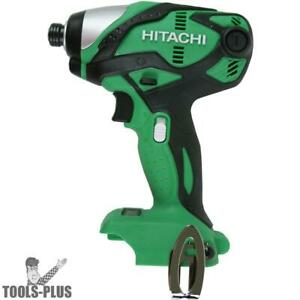 Hitachi Wh18dsdlp4 18v Cordless Lithium ion 1 4 Hex Impact Driver Tool Only New