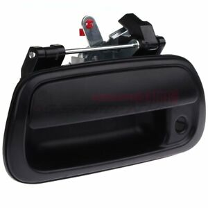 Tailgate Rear Back Door Handle For Toyota Tundra 2000 2006 Black