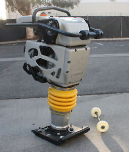 15600n Ramming Force 4 4hp Gas Power 149cc Tamper Jumping Jumper Jack Compactor