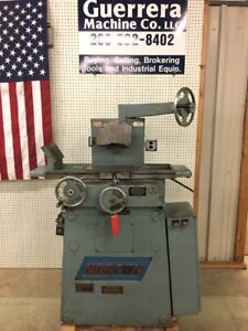 Norton 6 X 12 Manual Surface Grinder
