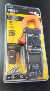 Klein Tools 600a Ac Auto ranging Digital Clamp Tough Multi Meter cl600