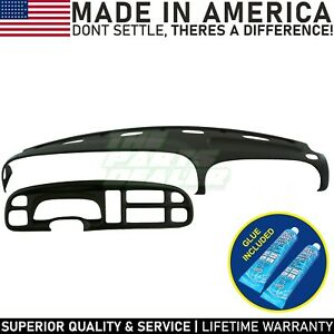 Dash Cover Bezel Cover Dodge Ram 1999 2000 2001 Skin Cap Cover Overlay Black
