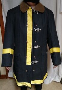 Globe Firefighter Turnout Coat Bunker Gear Jacket Size 38 Fire Protection