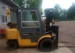 Caterpillar Gp30k Forklift Lp Gas Rebuilt Motor 5500lb Lift Truck