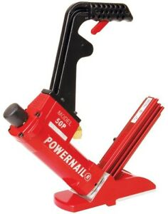 Flooring Cleat Nailer Pneumatic 18 Gauge Hardwood Cast Aluminum Safety Trigger
