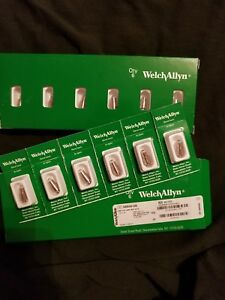 Welch Allyn 06500 u6 3 5v Halogen Hpx Lamp Bulbs Box Of 6