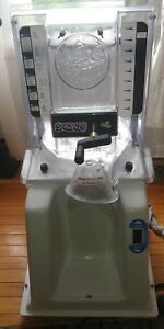 Commercial Block Ice Shaver Snowie Ac Shaved Ice Machine used