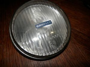 Carello Vintage Fog Lamp Light 5 3 4 In Across Great Condition Made In Italy