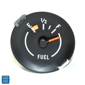 1970 1978 Camaro Dash Fuel Gauge For Dash Factor Gauges
