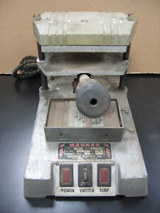 Warner Electric Hot Foil Stamping Embossing Heat Press Machine With Letters