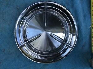 1960 Pontiac Flipper Bar Hubcap Wheelcover Catalina Bonneville Rat Rod Custom