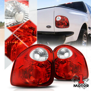 Red clear euro Altezza tail Light Rear Brake Lamp For 97 04 Ford F150 Flareside