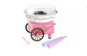 Nostalgia Cotton Candy Maker Machine Vintage Collection With 3 Free Flavors