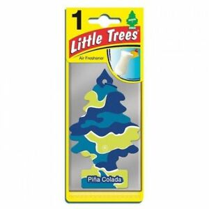 Little Trees Air Freshener Pina Colada Fragrance Car Truck Taxi Freshener Scent
