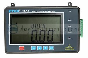 Etcr2900 Online Earth Resistance Tester 2000 On line Monitoring Ground Resistan