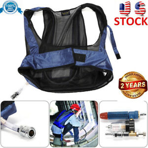Welding Steel Air Compressed Cooling Vest Vortex Tube Air Conditioner Waistcoat