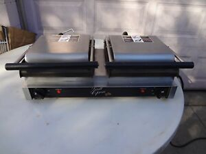 Star Gx20lg Grill Express Double Grooved Grill Panini Sandwich Press