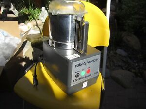 Robot Coupe R 301 Ultra Series D Commercial Food Processor Stainless Steel Bowl
