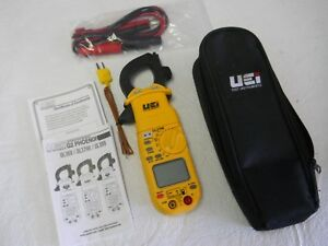 New Uei Test Instruments Dl379b Clamp On 600v 400a Multi meter W Case
