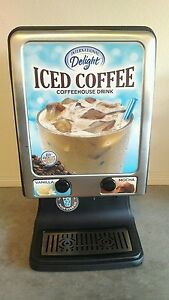 Commercial Iced Coffee Machine Cold Beverage Dispenser Mocha Latte Cappuccino