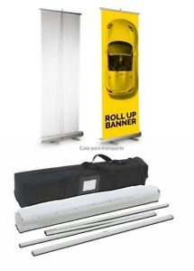 Retractable Roll Up Banner Stand graphic Not Included
