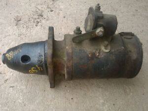 Farmall 400 450 Ih Tractor Good Working Engine Motor Starter Assembly Part