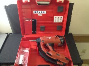 Hilti Gx3 Gas Actuated Fastening Tool Free Shipping