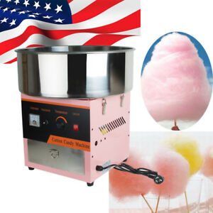 Electric Cotton Candy Machine Floss Maker Commercial Carnival Party 4 6 Pcs min
