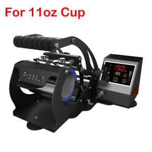 11oz Intelligent Mug Heat Press Heat Transfer Machine Cups Sublimation Portable
