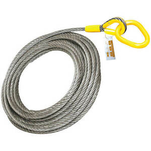 Roll Off Cable For Container Truck 6x26 Steel Core 7 8 X 82
