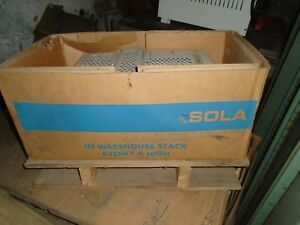 Sola 23 23 230 8 Cvs Constant Voltage Sine Wave Output Transformer