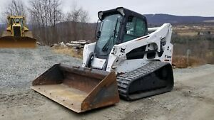 2013 Bobcat E80 Excavator Low Hours Hydraulic Thumb Very Nice Ready To Work