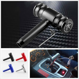 Black Car Shift Knob Gear Shifter Lever Cover For Automatic Transmission
