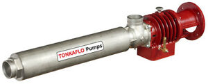 Water Pump Multi stage Tonkaflo Ss5512ka With 15 Hp Electric Motor