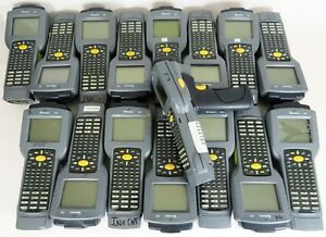 Lot Of 16 Intermec 2435 Barcode Scanners used