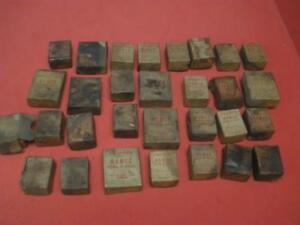 Lot Of 30 Vintage National Acme Chasers For Namco Dies Taps